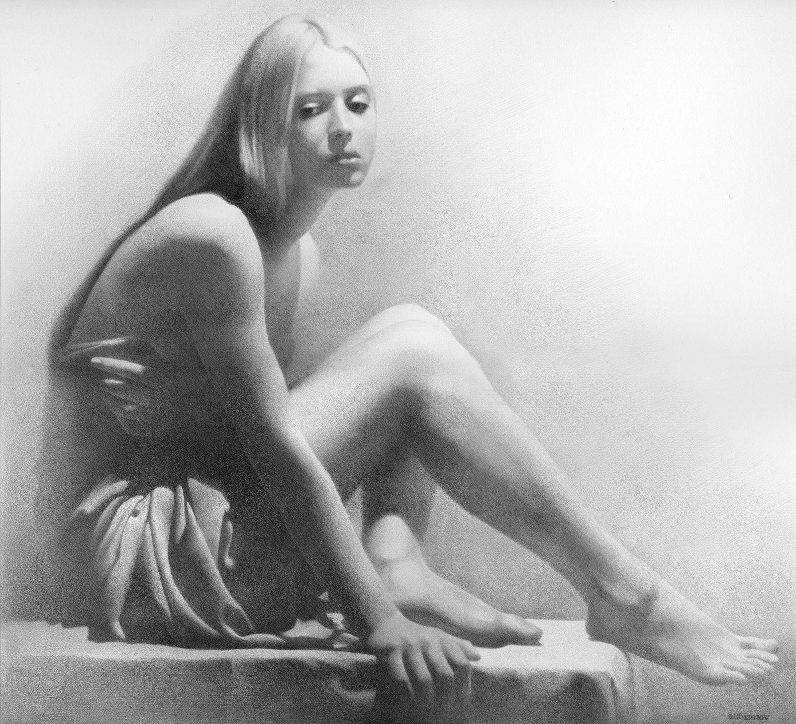 Художники рисующие голых девочек 6 фотография